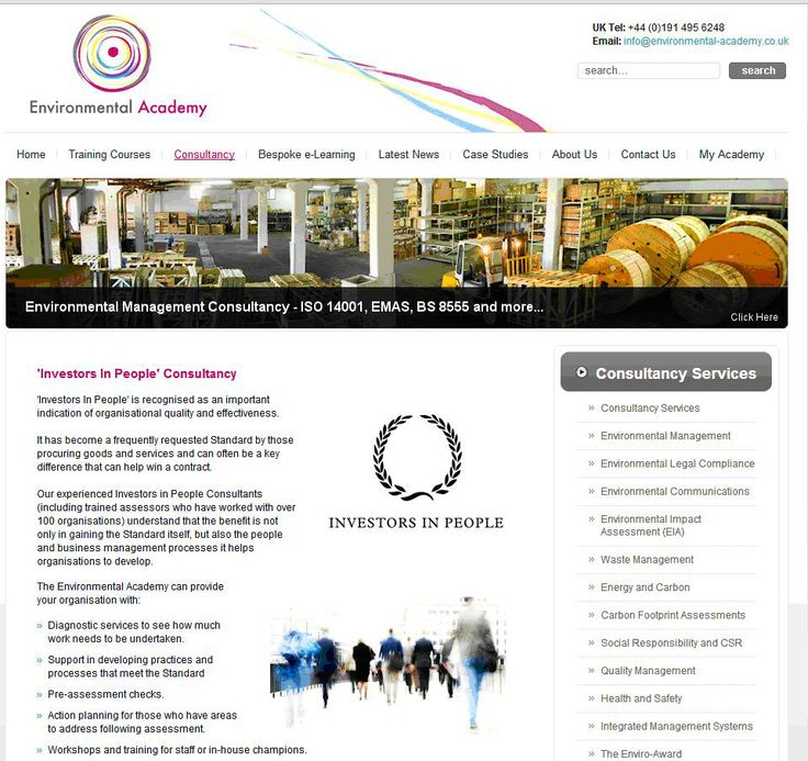 Environmental Academy - an Investors in People consultancy