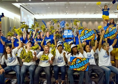 University of Delaware Blue Hens Earn No. 3 Seed in NCAA Tournament, Will Face No. 14 Seed Arkansas Little Rock Sunday in First Round.Blue Hens, Basketball, Hens Earn, Favorite Places, Crazy Blue, Hens Fever, Hens Mad, Delaware Blue, Delaware Sports