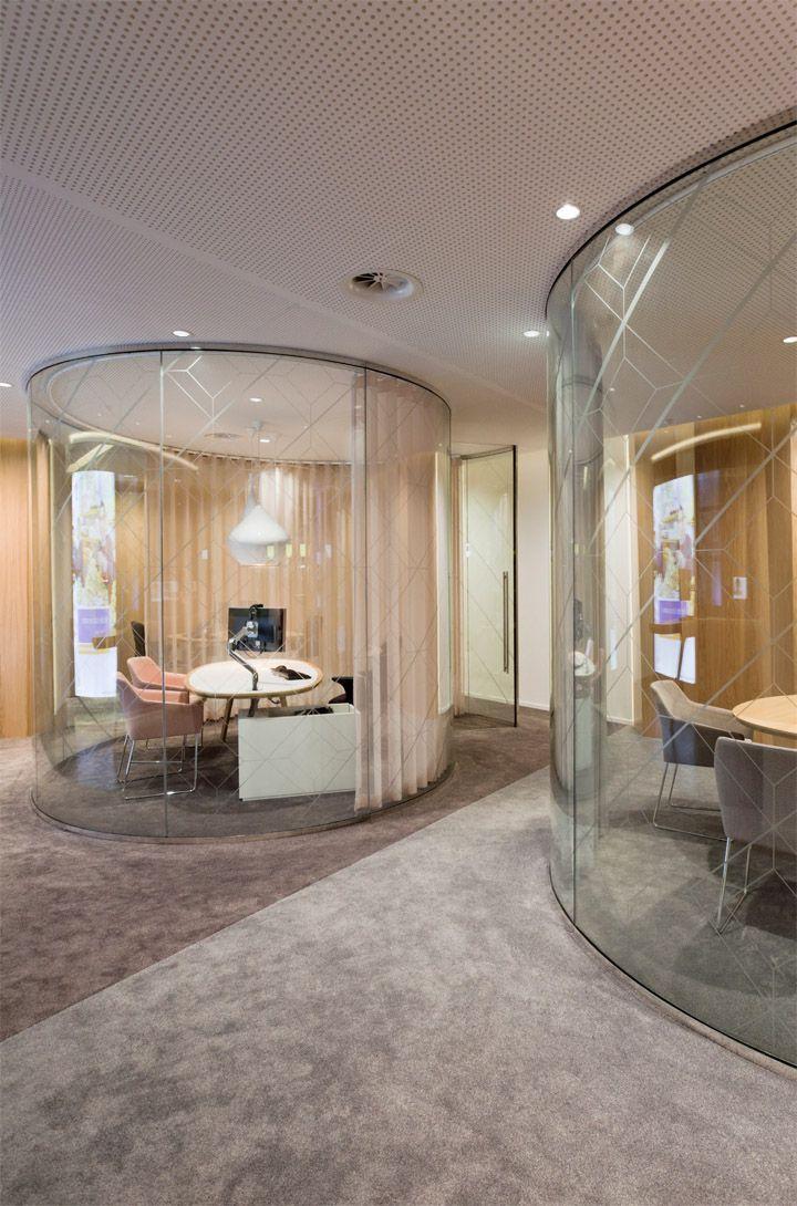 Rabobank retail banking center by Storage, Den Haag Netherlands office design