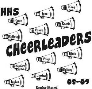 Cheerleading want a poster like this