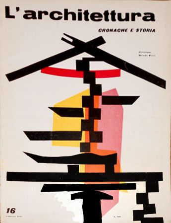 L'architettura cronache e storie, rivista diretta da Bruno Zevi