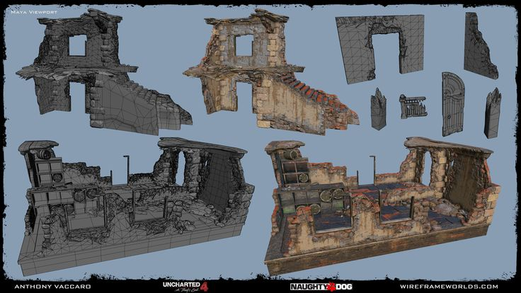 ArtStation - Uncharted 4: A Thief's End - Madagascar, Anthony Vaccaro