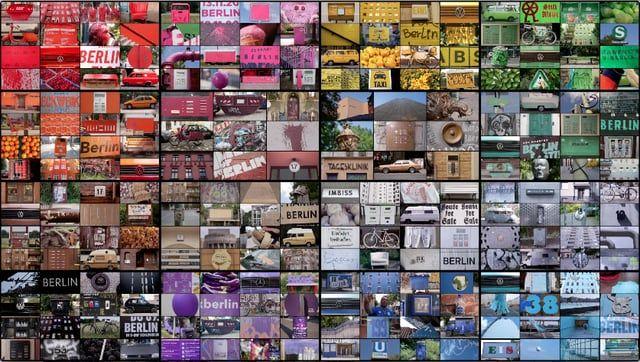 Un design-lapse hypnotisant de Julien Patry compilant plus de 1000 scènes de Berlin, organisées autour d'une idée centrale : les couleurs.