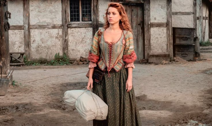 "Niamh Walsh plays one of the lead characters in the new British TV show ""Jamestown,"" which aired in the U.K. on Friday. (Courtesy Sky UK Limited)"