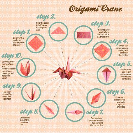 origami crane instructions easy