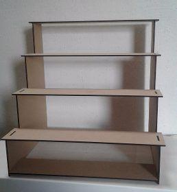 Muebles Para Mesa De Dulces Bautizo Casita Escalera Vintage - $ 399.00
