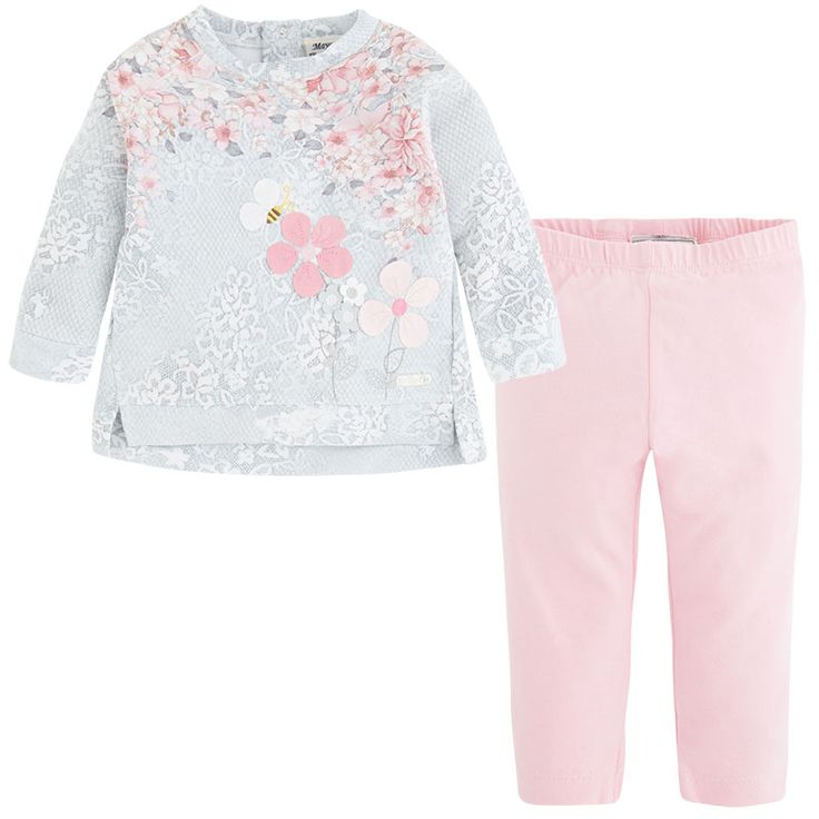 Leggings and sweater set Pinks - Mayoral
