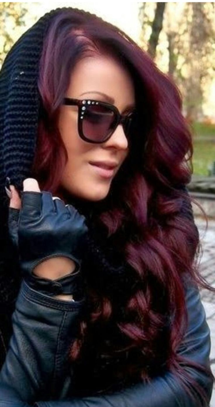 21 Best Hair Color Images On Pinterest Purple Hair Braids And