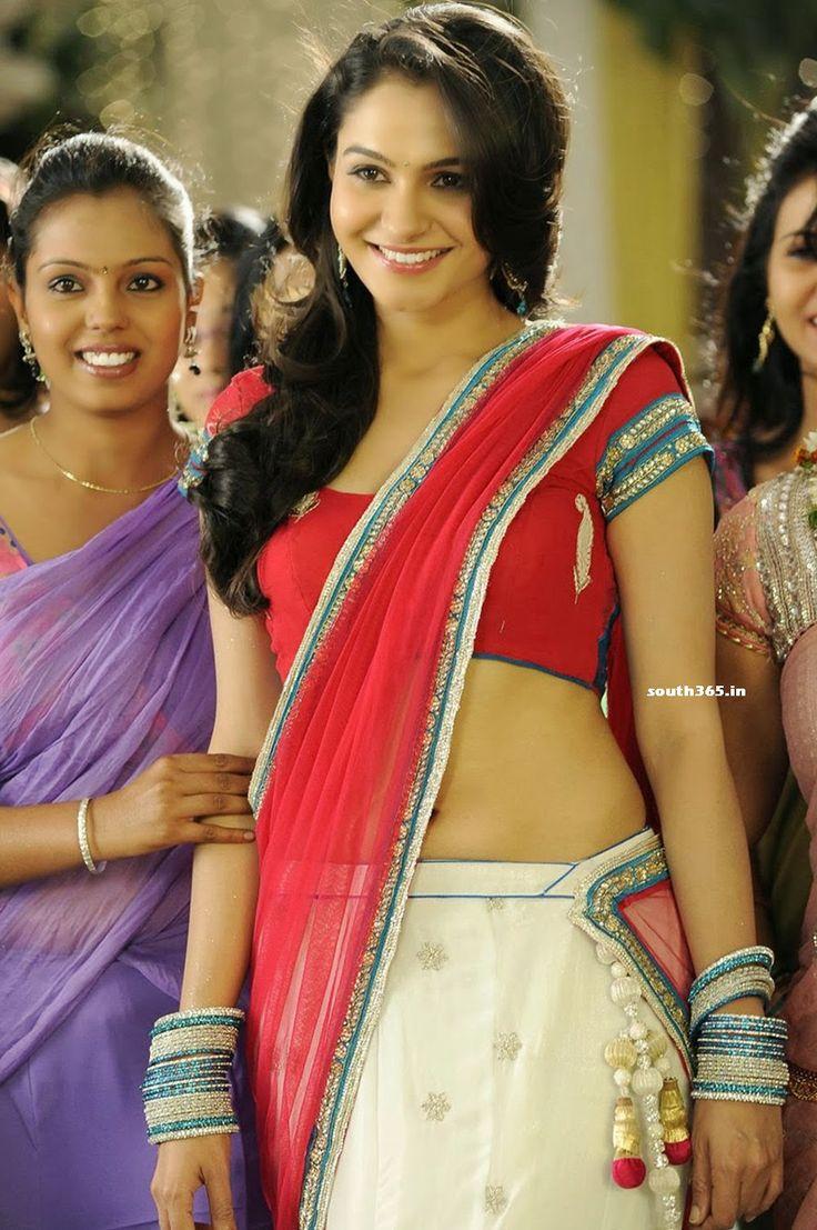 Tamanna In Tadakha Halfsaree: Andrea Jeremiah In Half Saree From Tadakha Telugu Movie At