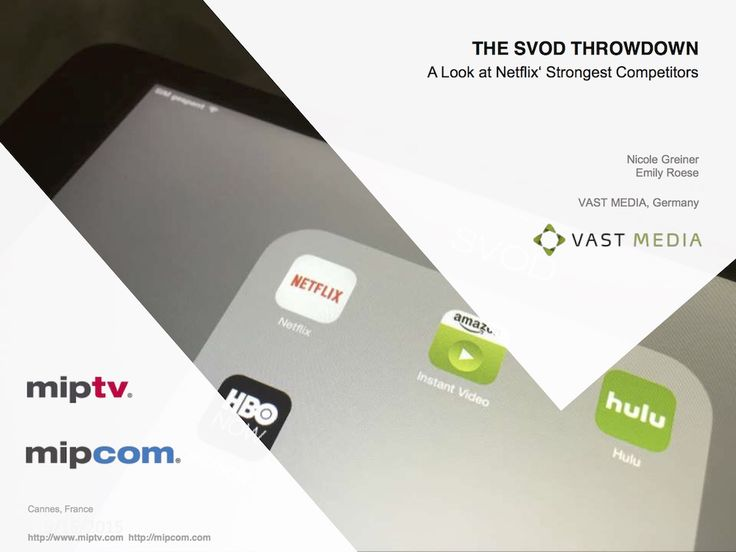 The SVOD Throwdown – A Look at Netflix' Strongest Competitors