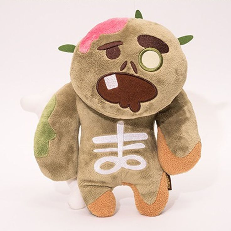 Korea Moblie Game Cookie Run Character Plush Doll 30cm 12in Zombie Cookie #Cookierun