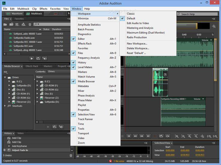 Adobe Audition  Full Cracked