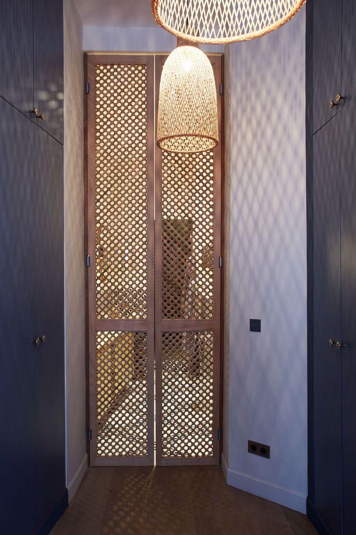 Dressing (suite parentale)- Appartement Parisien de 320m2- GCG Architectes