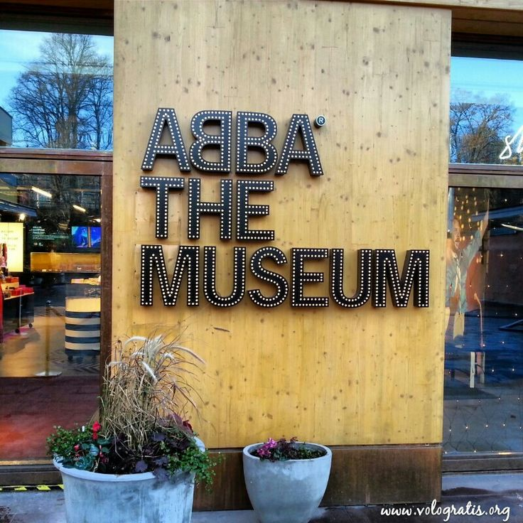 ABBA Museum Stockholm, Sweden