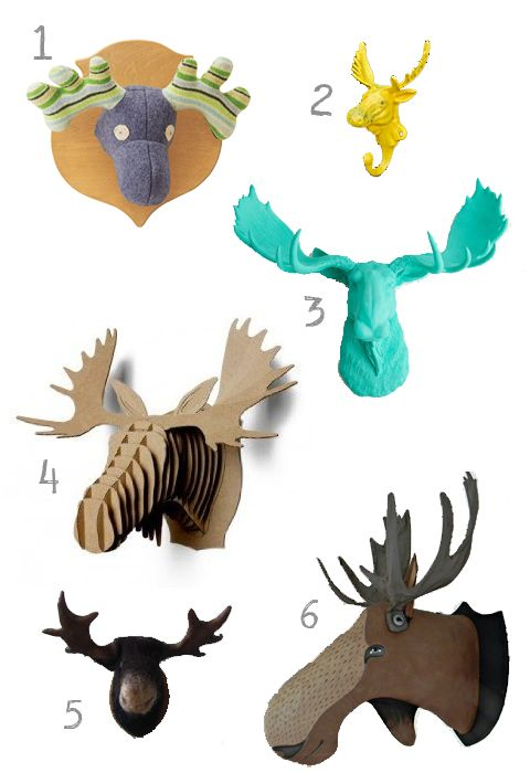 17 best images about animal roundups on pinterest happy year elephant nursery and sprouts - Fake stuffed moose head ...