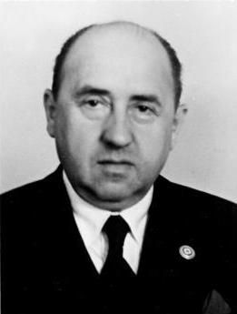 Walther Funk,former Reich Minister of Economics & head of the Reichsbank sentenced to life in prison at the Nuremberg trials for overseeing theft of property from Jews in Germany. This even extended to the taking of glasses, rings, & gold teeth from those held in the concentration camps.Funk released from Spandau prison in 1957 due to poor health & died 3 years later.