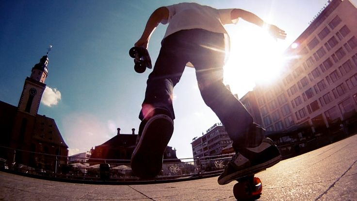 Awesome new sport called Freeline Skating.