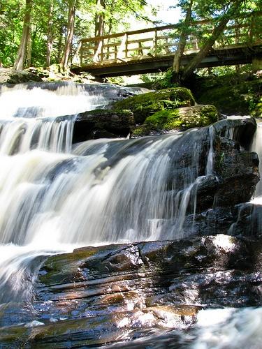 High Falls, Bracebridge, Ontario