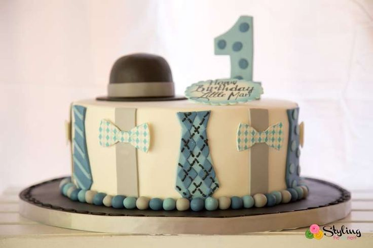 One Little Man's First Birthday | CatchMyParty.com