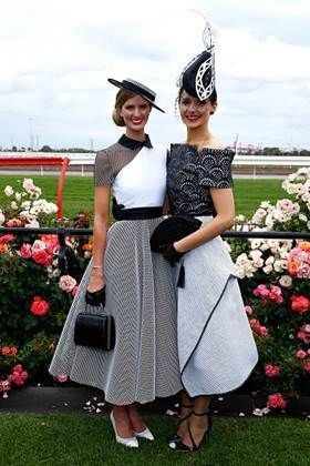 Myer Fashions on the Field | Victoria Racing Club derby day 2015