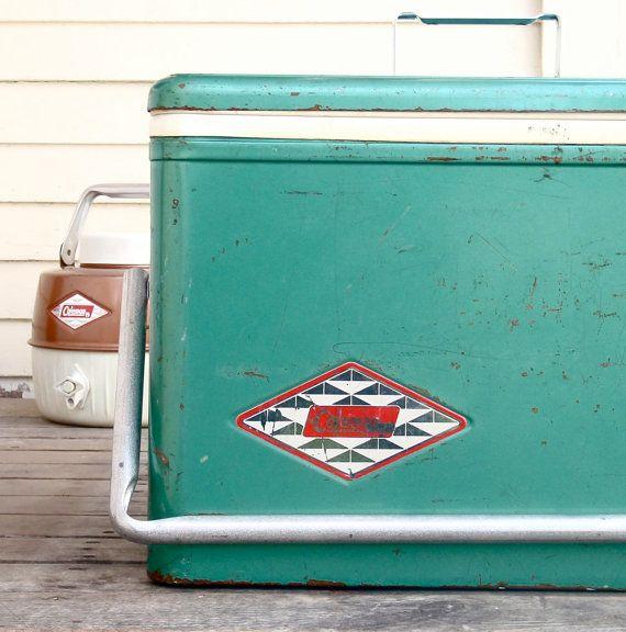 dating vintage coleman coolers