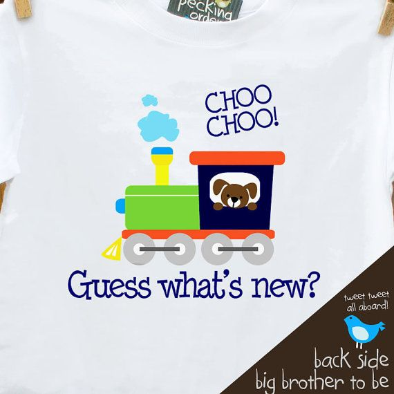 Big brother shirt - train secret big brother to be pregnancy announcement tshirt on Etsy, $18.50