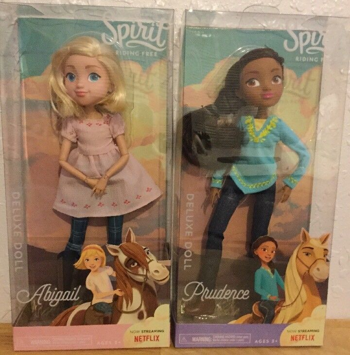 Dreamworks Spirit Riding Free NETFLIX Abigail & Prudence Deluxe