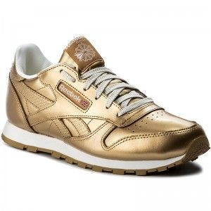Schuhe Reebok - Classic Leather Metallic BS8944 Brass/White