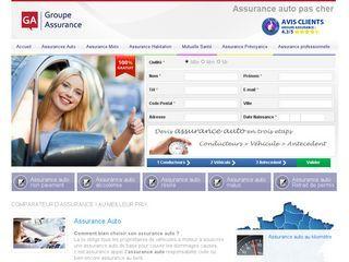 Groupeassurance - Comparateur de devis d'Assurance voiture pas chère
