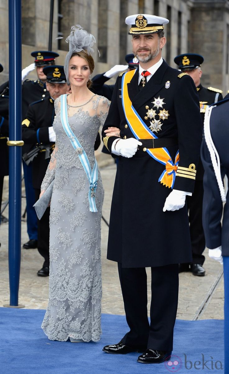 THE ROYAL GUEST ATTEND İNVESTİTURE CEREMONY OF KİNG WİLLEM ALEXANDER AT THE NİEUVE KERK