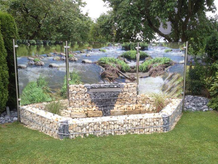 Wasserspiele Im Garten Edelstahl. 45 best gartenbrunnen ...