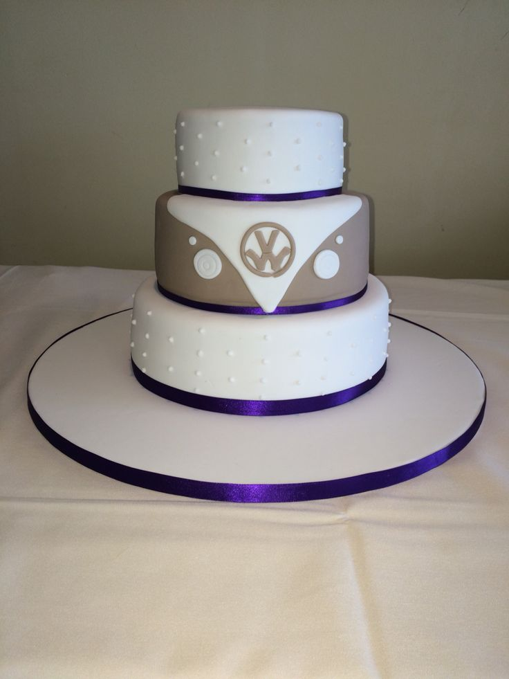 Campervan themed wedding cake 7 best Wedding