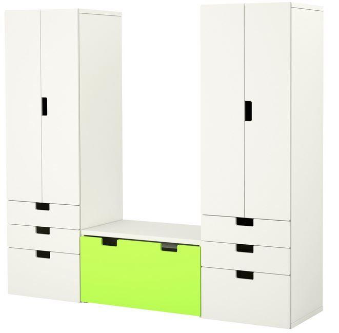 yeşil beyaz ikea çocuk odası dolabı fiyatı 1,019 tl
