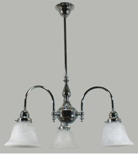 Picture of Lucius 3 Light Pendant With K05 Alabaster Glass (Lucius/PD/3Lt/K05) Lode International