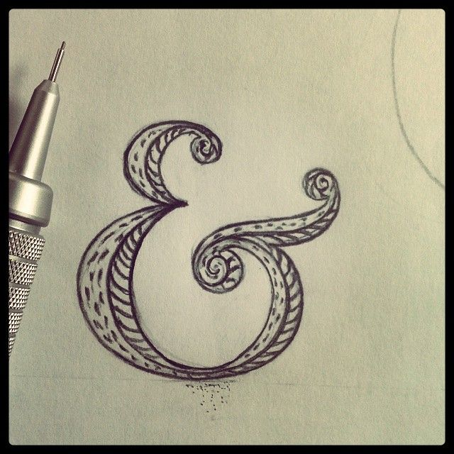 Creative letters (typography, lettering, logo, sketches)