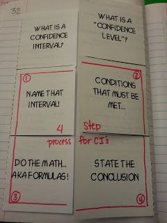 Teaching Statistics: Made4Math - More Foldables!