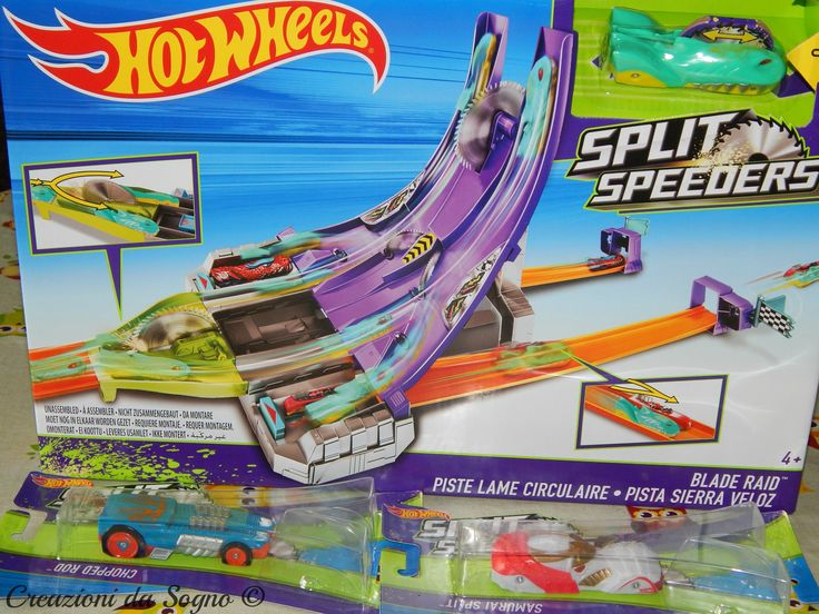 Pista Hot Wheels Split Speeders
