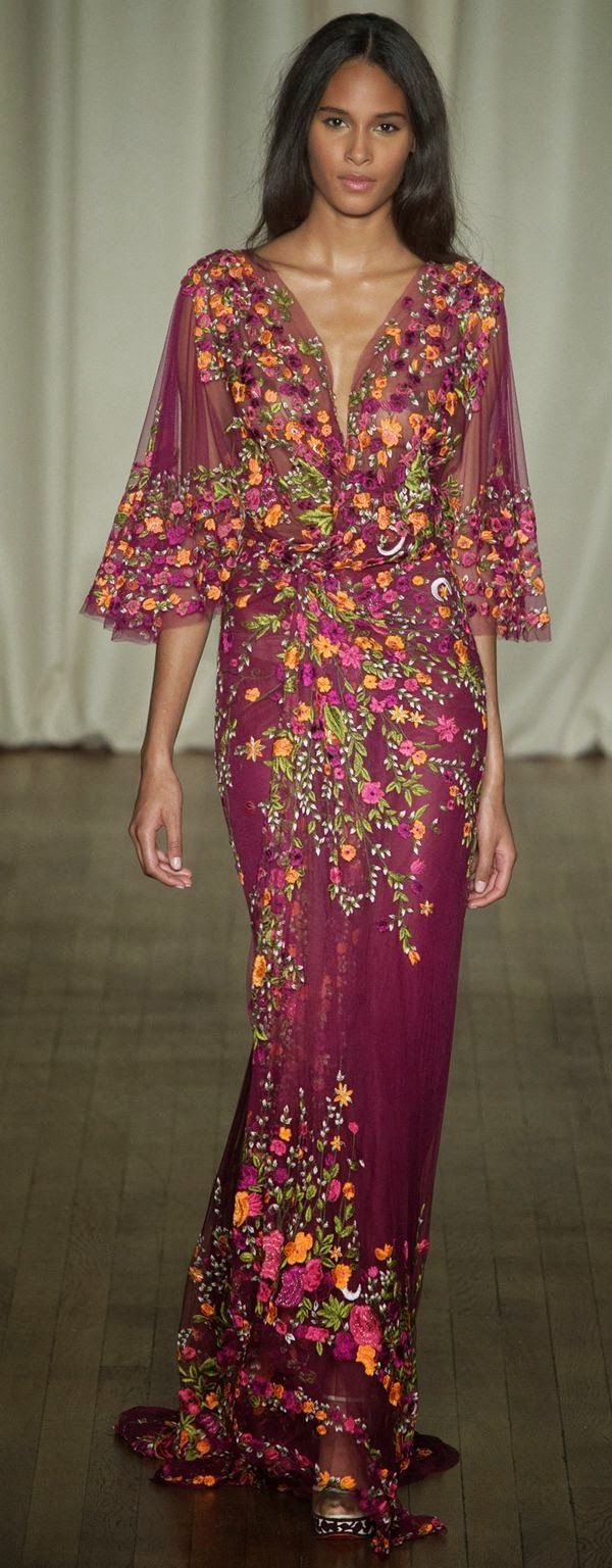 Marchesa - London Fashion Week - Ready To Wear - Primavera 2015