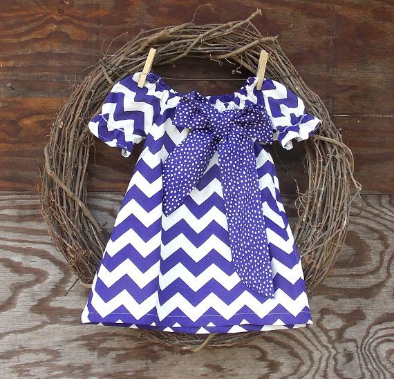 Girls Chevron Dress Chevron dress Easter Dress by SouthernSister2, $30.00