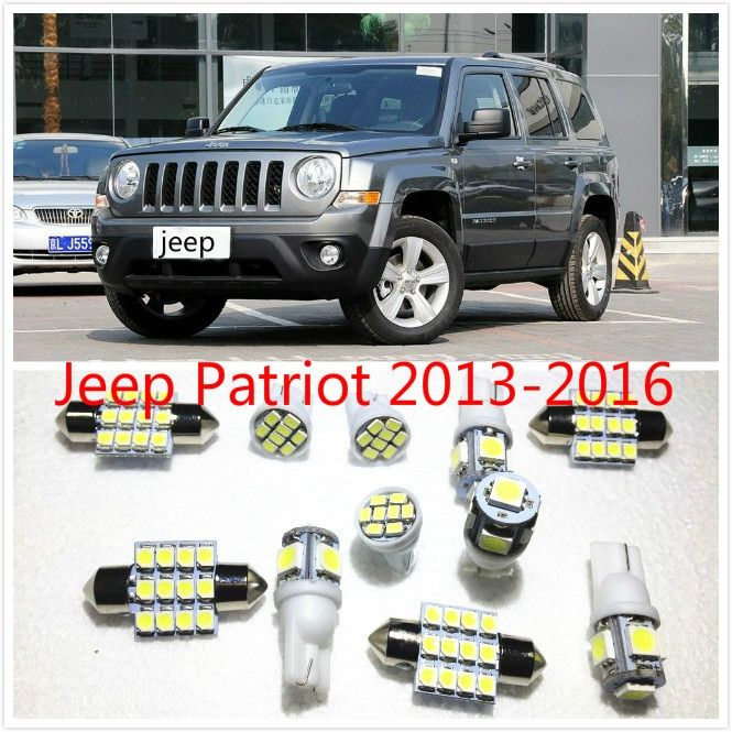 Universe Of Goods Buy 11 Set White Led Lights Interior Package 10 31mm Map Dome For Jeep Patriot 2013 2016 For O White Led Lights Led Lights Jeep Patriot