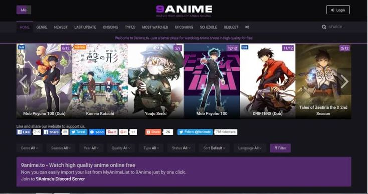 Hi friends, today we have another excellent Anime streaming website to recommend to you. We've recently come across 9Anime. Read on to find out more. 9Anime- Watch Dubbed Anime Online  9Anime allows you to watch Anime shows online for free. They aim to provide high quality streaming links... https://techwhack.com/9anime/