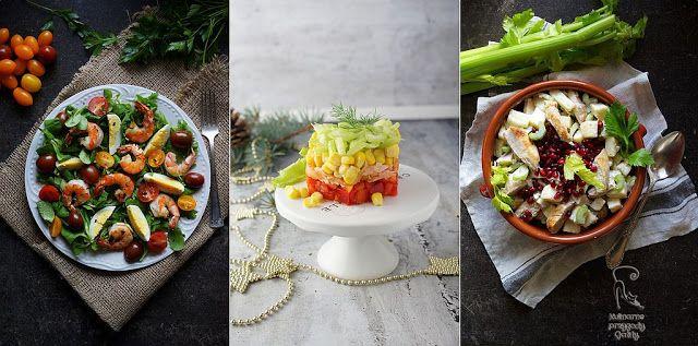 Kulinarne przygody Gatity - przepisy pełne smaku: Sałatkowe menu na Sylwestra