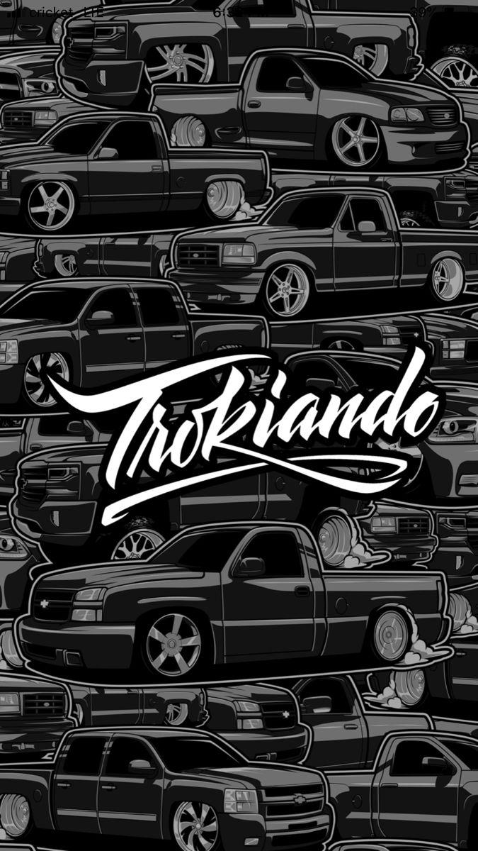 Trokiando Only Dropped Trucks Mexico Wallpaper Lowrider Trucks