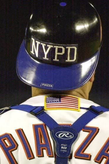 The Mets were the *first* NY team to play in the Big Apple after 9/11. The game ended in spectacular fashion: with a home run by none other than Mike Piazza!