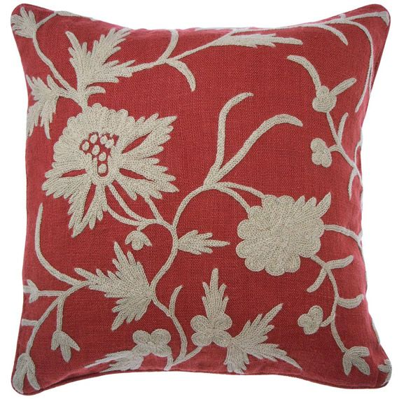 Floral Martagon Cushion Cover, Heavy-Weave