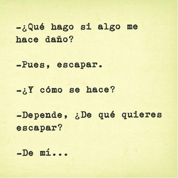 frases - libros - escapar - sad - tumblr