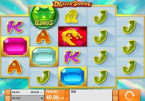 Игровой автомат Dragon Shrine на реальные деньги с выводом. Dragon Shrine – игровой автомат с множеством возможностей для вывода крупных призов. Начните играть в этот аппарат на реальные деньги и окунитесь в атмосферу Востока, полную магии и тайн.   Приручайте драконов и в