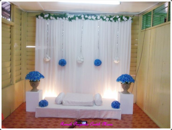 simplest pelamin, DIY idea!