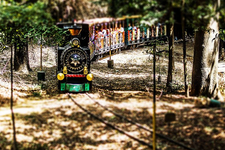 Nice picture of a model train - or is it?