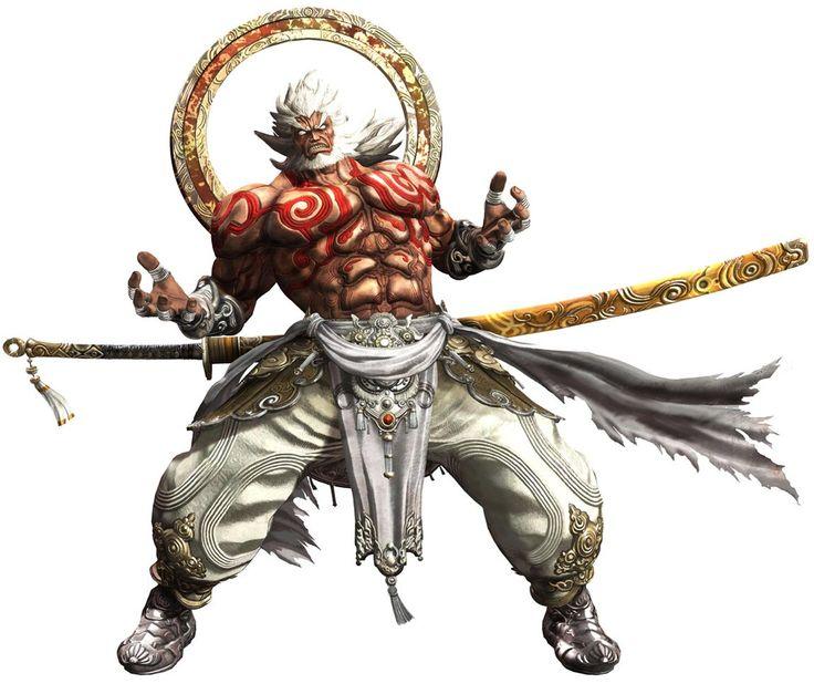 Augus - Characters & Art - Asura's Wrath
